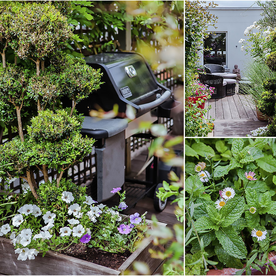 aménagement créatif de terrasses à paris - paysagiste